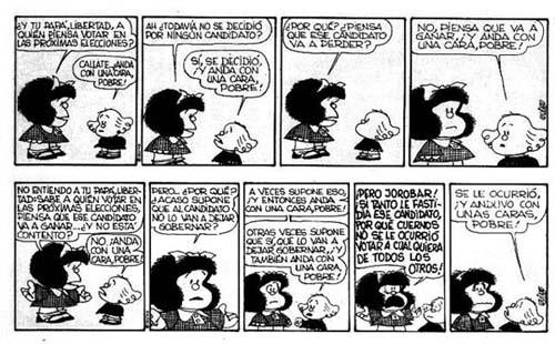 Algunas historietas de Mafalda - Taringa!