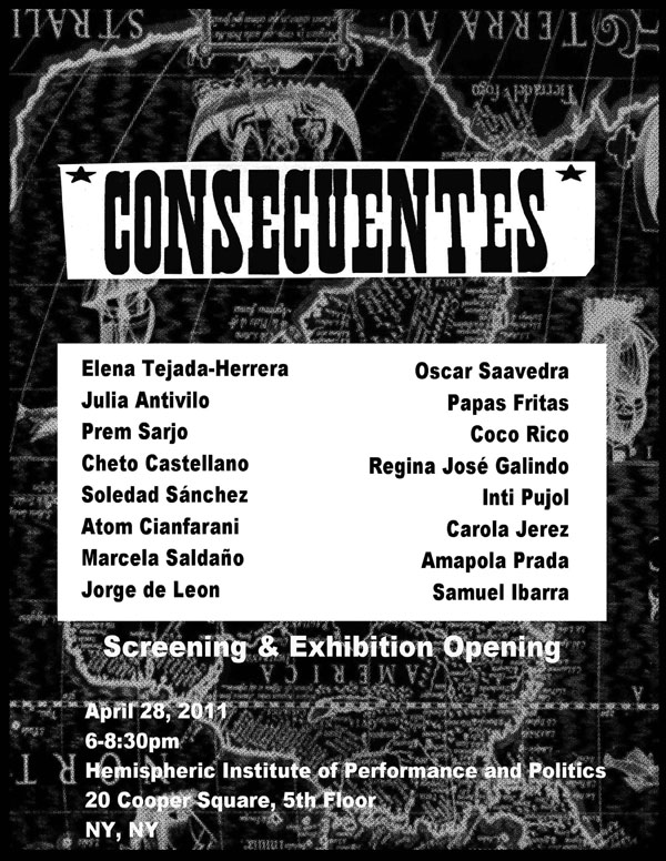Flyer from Consecuentes